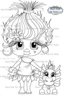 Image result for talking tom and angela coloring pages