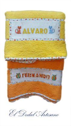 Toallas personalizadas con punto de cruz Peppa Pig, Pot Holders, Applique, Embroidery, Crafts, Grandchildren, Towels, Molde, Cross Stitch