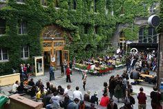 ▸ WUK: Zwischen freier Kunst und Beisl-Gemütlichkeit - 1000things.at Places To Go, Street View, Traveling, Exploring, Concerts, Viajes, Trips, Travel