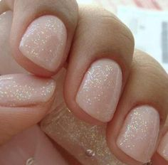 Plain with glitter