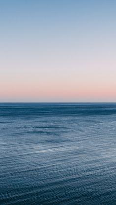 Calm and beautiful sea, clean skyline, sunset, wallpaper Ocean Wallpaper, Scenery Wallpaper, Nature Wallpaper, Sky Sea, Sea And Ocean, Aesthetic Backgrounds, Aesthetic Wallpapers, Beach Aesthetic, Ocean Photography