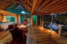 Photographic safari, team building photo safari and wildlife photography course accommodation Mvuu Lodge, Malawi.