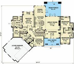 Plan 14649RK: Exciting Craftsman House Plan