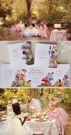 Pixie Hollow Collection & Party by Loralee Lewis, www.loraleelewis.com