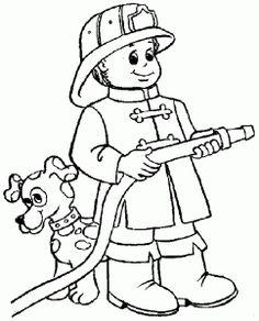 desenhos colorir imprimir profissoes bombeiro (3)