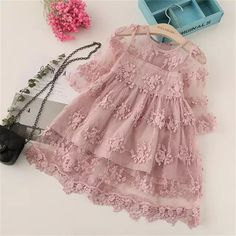 BibiCola Summer Girl Clothes Kids Dresses For Girls Lace Flower Dress Baby Girl Party Wedding Dress Children Girl Princess Dress - Baby Girl Dress - Ideas of Baby Girl Dress Girls Lace Dress, Little Girl Dresses, Girls Dresses, Dress Lace, Dress Girl, 8 Years Girl Dress, Cute Baby Dresses, Pink Dress, Lace Dress For Kids