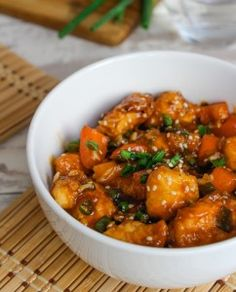 No need to order takeout with this Sweet and Sour Chicken made healthy with low fodmap, paleo ingredients free of additives and full of flavor.