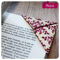 Rien de tel qu'un origami marque-page pour égayer vos lectures ! Craquez pour ce DIY mignon et utile : l'origami marque-page ne quittera plu vos livres ! #origami #bookmark