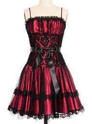 Vintage Vamp Lolita Party Dress