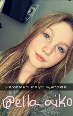 Ella Anderson snapchat: ellaandrerson4u Ella Anderson, Over Analyzing, Musical Ly, Snapchat, Singing, Fan, Fans, Computer Fan