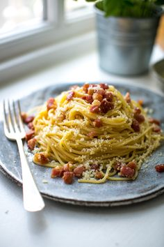 Spaghetti Carbonara | DonalSkehan.com, An absolute classic, Carbonara is hard to beat!