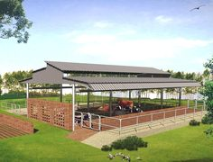 Modern House Pictures In Kerala Cow Shed Design, Modern Houses Pictures, Livestock Farming, Poultry Farming, Goat Farming, Cattle Barn, Goat House, Farm Shed, Farm Layout