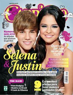 Justin Bieber Google News: Justin Bieber Selena Gomez - Revista Capricho Braz...