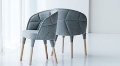 Мебельная выставка в Стокгольме: кресло Emily от Färg & Blanche
