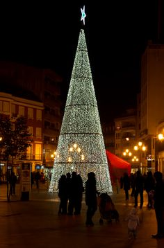 Christmas in Vilagarcia, Spain Christmas In Spain, Magical Christmas, Christmas Love, Christmas Lights, Christmas Holidays, Xmas, Christmas Trees, Advent, All Over The World