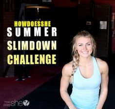 Summer Slim-down Challenge! Who's joining us?