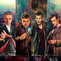 I have this as my screensaver! Love Doctor Who fan art!