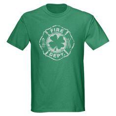 Irish Fire Dept Shield Dark T-Shirt Irish Firefighter Dark T-Shirt by T Shirt Home - CafePress Brazil T Shirt, Dark Men, Pub Crawl, Tee Shirts, Tees, Firefighter, Classic T Shirts, Shirt Designs, T Shirts