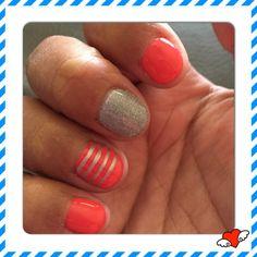 my May 2015 nails  ❤️