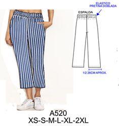 pantalones Crochet Drawstring Bag, Dress Sewing Patterns, Different Patterns, Pajama Pants, Tambour, Womens Fashion, Salsa, Fabric, Clothes