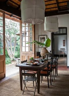 Home and Delicious: dining areas: ALMOST IDENTICAL?