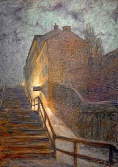 Eugene Jansson, Motiv aus Timmermansgatan, 1899