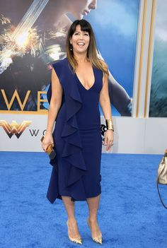 "Patty Jenkins Photos Photos - Director Patty Jenkins attends the world premiere of ""Wonder Woman"" at the Pantages on May 25, 2017 in Hollywood, California. / AFP PHOTO / VALERIE MACON - Premiere of Warner Bros. Pictures' 'Wonder Woman' - Arrivals"