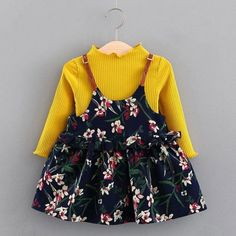 Keelorn Baby Girl Dress Princess 2019 New Spring Autumn Baby Clothes Long Sleeve Fake 2 Piece Party Dress baby girl clothes kids Fashion Kids, Latest Fashion, Fashion Trends, Toddler Girl Dresses, Girls Dresses, Ball Dresses, Dresses With Sleeves, Sleeve Dresses, Dress Outfits