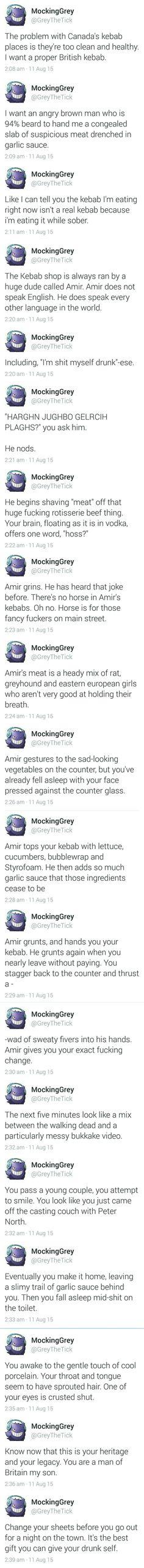 Amir's kebab is the true kebab