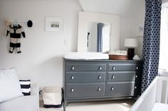 Ikea dresser changing table