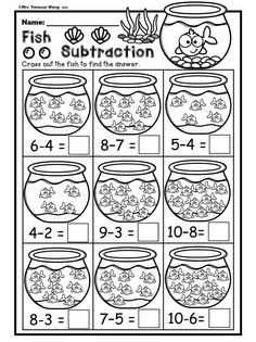 Subtraction Strategies, Subtraction Kindergarten, Subtraction Activities, Kindergarten Math Worksheets, Teaching Kindergarten, Math Resources, Teaching Ideas, Anime Nails, Three Letter Words