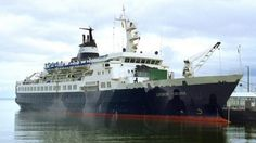 Russian Ghost Cruise Ship Reappears (interesting story)
