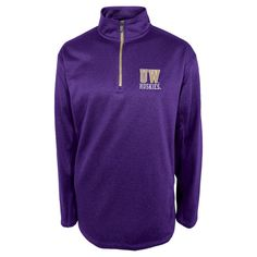 Washington Huskies Men's 1/4 Zip Sweatshirt