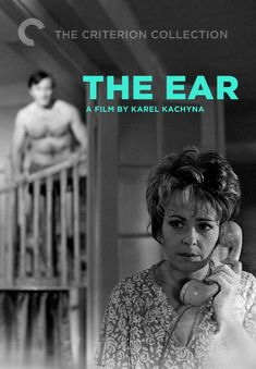 """The Ear -- """"After learning that a number of his colleagues have been terminated, a government official discovers that his house has been bugged. Film Watch, Watch Tv Shows, Movies To Watch, Watch Tv Online, The Criterion Collection, Indie Films, Great Films, Feature Film, Cinematography"""