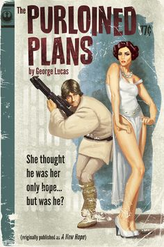 Perfect Pulpy Covers For Star Wars