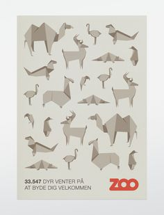 folding zoo / origami animals - bobby monroe