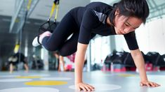 11 New Ways to Work Out with TRX Straps Activate Glutes, Trx Straps, Pilates Reformer Exercises, Pilates Yoga, Resistance Workout, Resistance Bands, Suspension Training, Bulgarian Split Squats, Muscle Up