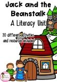 Jack and the Beanstalk Literacy Unit Jack And The Beanstalk, Teacher Pay Teachers, Literacy, The Unit, Education, Teaching, Training, Educational Illustrations, Learning