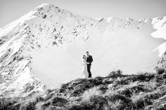 Bree & Jace had their elopement Winter wedding in Wanaka at the end of July. They both loved the dramatic landscape of Wanaka and especially wanted photos by the lake with snow-capped mountains. Elope Wedding, Wedding Ceremony, Mountain Weddings, Wedding Company, Dramatic Look, Winter Weddings, Absolutely Fabulous, Western Australia, Waterfall