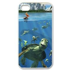 "Amazon.com: Disney Crush & Friends in ""Finding Nemo"" Cartoon Printed Hard Case Cover for Apple iPhone 4/4s: Cell Phones & Accessories"