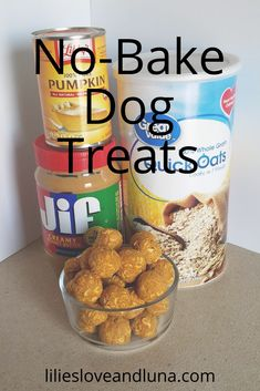 No Bake Dog Treats, Peanut Butter Dog Treats, Doggie Treats, Homemade Dog Treats, Healthy Dog Treats, Scooby Snacks, Dog Snacks, Dog Treat Recipes, Dog Food Recipes