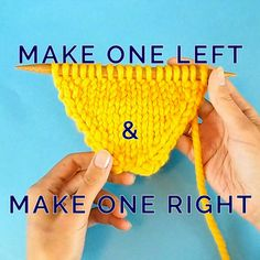 Latest Cost-Free knitting stitches step by step Style The most common knitting increase step by step Knitting Increase, Knitting Help, Knitting Stiches, Easy Knitting Patterns, Knitting Videos, Knitting For Beginners, Crochet Stitches, Baby Knitting, Knit Crochet
