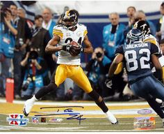 Ike Taylor Photos | Ike Taylor Pittsburgh Steelers - Super Bowl XL Interception Front View ...