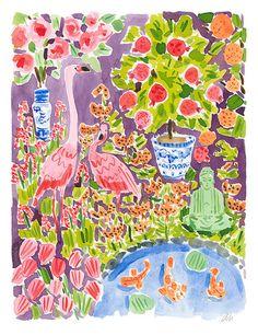 In the Garden // Caitlin McGauley