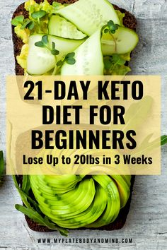 Easy to follow Ketogenic diet for beginners who want to lose weight. Here you have a 21 day menu that is simple and budge friendly with mouth watering recipes. Made especially for women wh are looking to get healthier and lose weight with the keto diet. This meal plan has everything you are looking for. Get Healthy, Healthy Life, Healthy Living, Clean Eating Plans, Clean Eating Recipes, Weight Loss Meal Plan, Healthy Weight Loss, High Sugar Fruits, Ketogenic Diet For Beginners