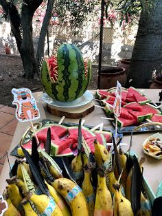 Educar des del cor: Berenar d'aniversari sense xuxes Birthday Party Games, Watermelon, Fruit, Blog, Blogging