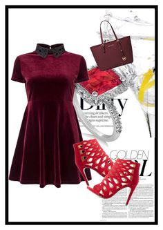 """""""..."""" by tanichka03 on Polyvore featuring Allurez, Miss Selfridge, Delicious, Michael Kors and Murphy"""