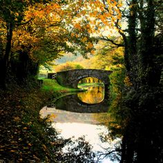 Monmouth Brecon Canal, Wales - my own photo originally posted on Flickr