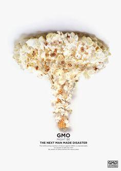 """GMO might be the next man made disaster."" - Ece Diçmen via Behance."