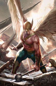 【DC comics】My Hawkman series Dc Heroes, Comic Book Heroes, Comic Books Art, Comic Art, Book Art, Hq Marvel, Marvel Comics, Arte Dc Comics, Hawkgirl